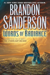Brandon Sanderson Words of Radiance Stormlight Archive