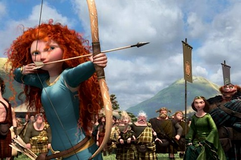 Princess Merida, Brave, archery