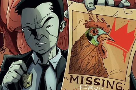 Asian American comics characters Tony Chu Chew