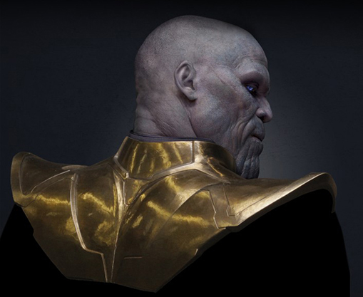 Guardian of the Galaxy movie review Thanos