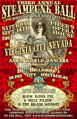 Steampunk Ball Virginia City Nevada
