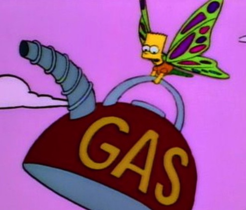 Under the Dome Infestation bart simpson butterfly