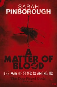Barnes and Noble A Matter of Blood Sarah Pinborough
