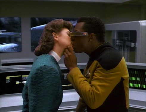 The Star Trek: The Next Generation Rewatch by Keith DeCandido covers season 3 episode
