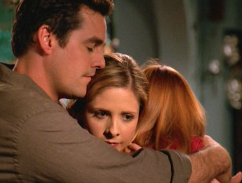 Buffy the Vampire Slayer, After Life. Willow, Xander