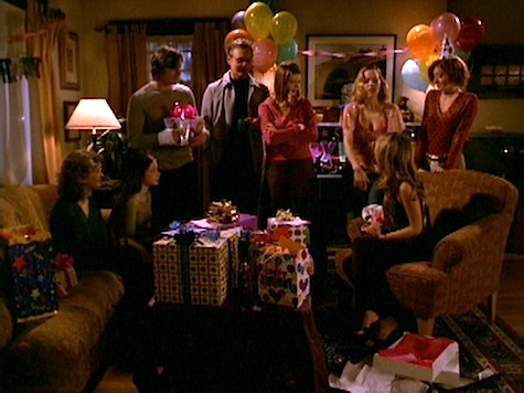 Buffy the Vampire Slayer, Blood Ties, Giles, Joyce, Xander, Anya, Willow, Tara, Dawn