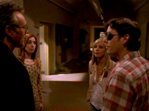 Buffy the Vampire Slayer, Chosen, Giles, Xander, Willow