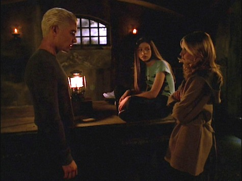 Buffy the Vampire Slayer, Crush, Spike, Dawn
