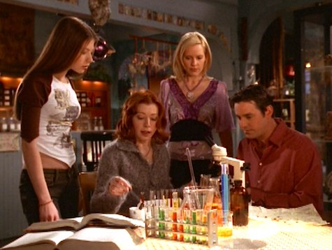 Buffy the Vampire Slayer, Doublemeat Palace Dawn Willow Xander Anya
