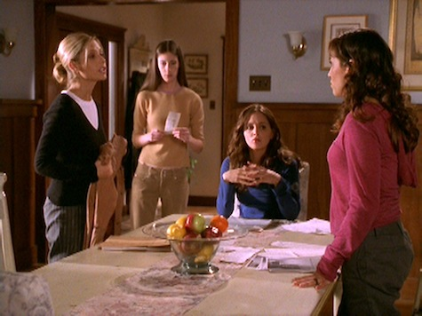 Buffy the Vampire Slayer, Empty Places, Kennedy, Faith