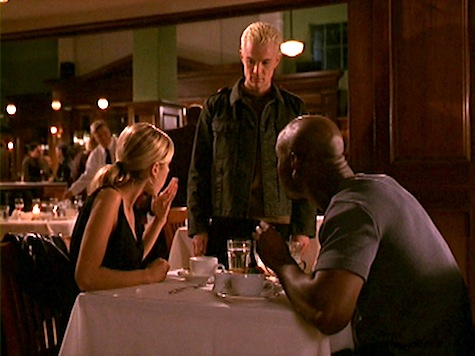 Buffy the Vampire Slayer, First Date, Spike, Robin