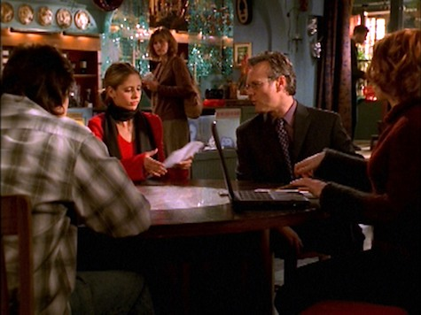 Buffy the Vampire Slayer, I Was Made to Love You, Giles, Xander