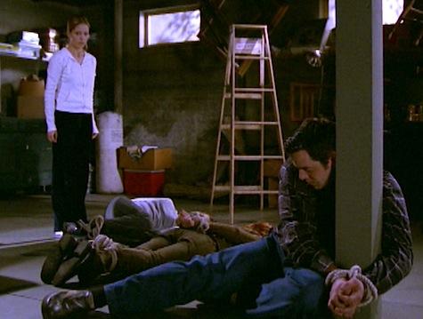 Buffy the Vampire Slayer, Normal Again, Willow, Xander, Dawn