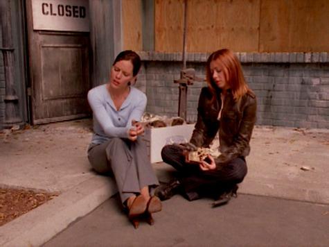 Buffy the Vampire Slayer, Same Time Same Place, Anya, Willow
