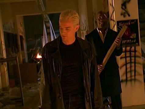 Buffy the Vampire Slayer, Storyteller, Spike, Robin