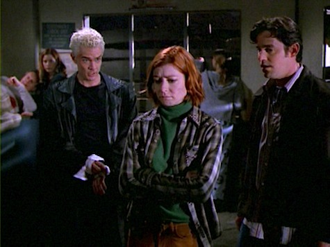 Buffy the Vampire Slayer, Weight of the World, Willow, Xander, Spike