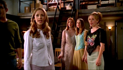 Buffy the Vampire Slayer Once More With Feeling Xander, Willow, Tara, Anya