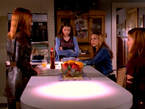 Buffy the Vampire Slayer, Wrecked, Willow, Dawn, Amy