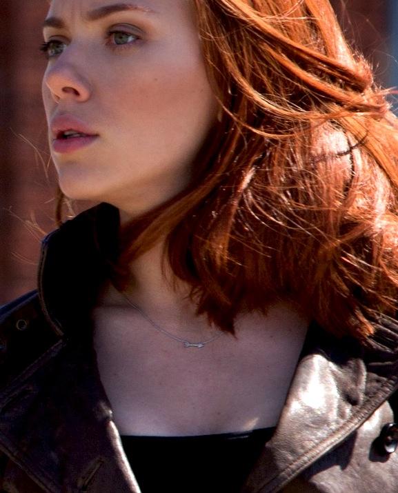 Captain America: The Winter Soldier, Widow, necklace, arrow, Hawkeye