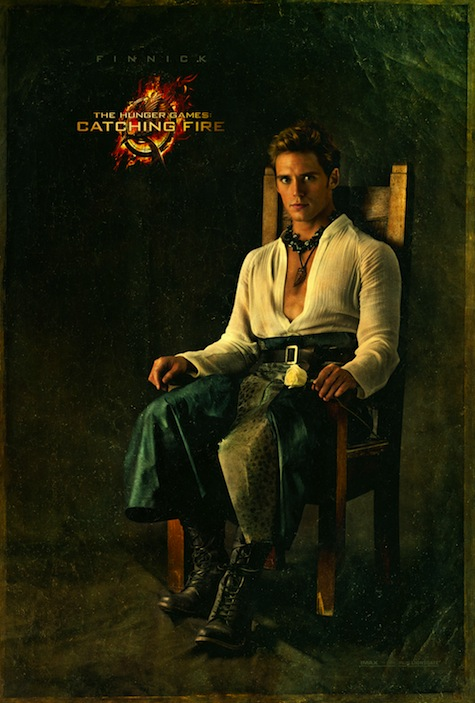 Capitol Portraits Finnick Odair Sam Claflin Catching Fire