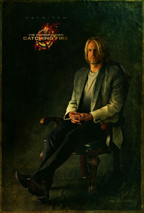Capitol Portraits Haymitch Abernathy Woody Harrelson Catching Fire