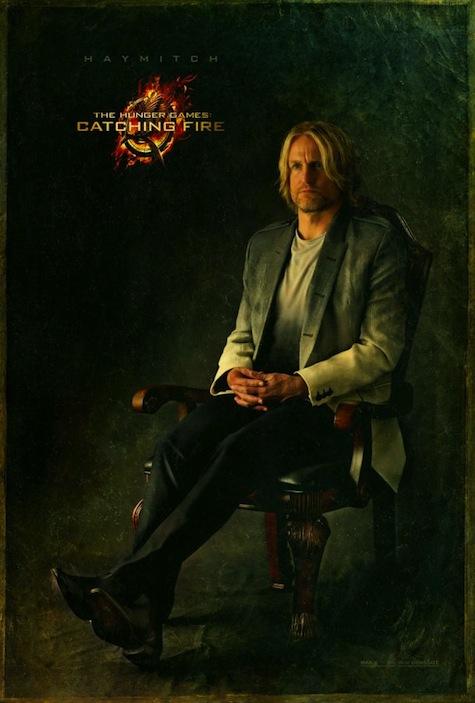 Capitol Portraits Haymitch Abernathy Woody Harrelson Catching Fire