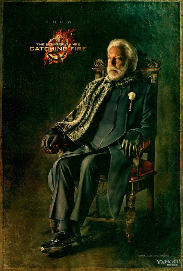 Capitol Portraits President Snow Donald Sutherland Catching Fire