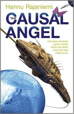 The Causal Angel Hannu Rajaniemi review UK cover