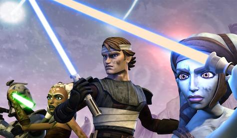 Star Wars The Clone Wars, ahsoka tano, anakin skywalker, aayla secura