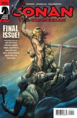 Conan the Crimmerian #25