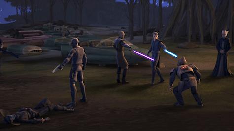 Star Wars: The Clone Wars, Anakin, Mace Windu, Palpatine, Eval, Cad Bane
