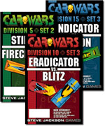Car Wars board game