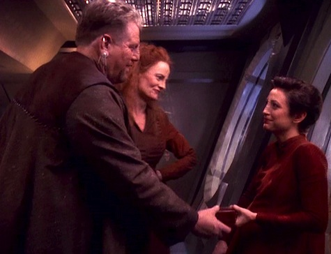 Deep Space Nine, The Darkness and the Light, Kira, Furel, Lupaza