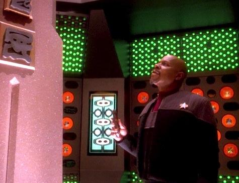 Deep Space Nine, Rapture, Sisko