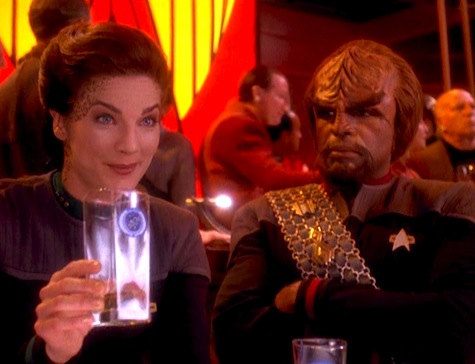 Deep Space Nine, Rapture, Dax, Worf