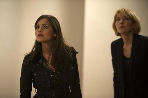 Clara, Kate Stewart, Doctor Who 50th anniversary