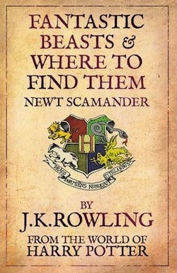 j.k. rowling, harry potter, fantastic beast and where to find them