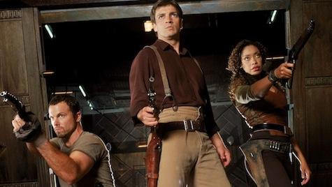 Firefly, Mal, Zoe, Jayne