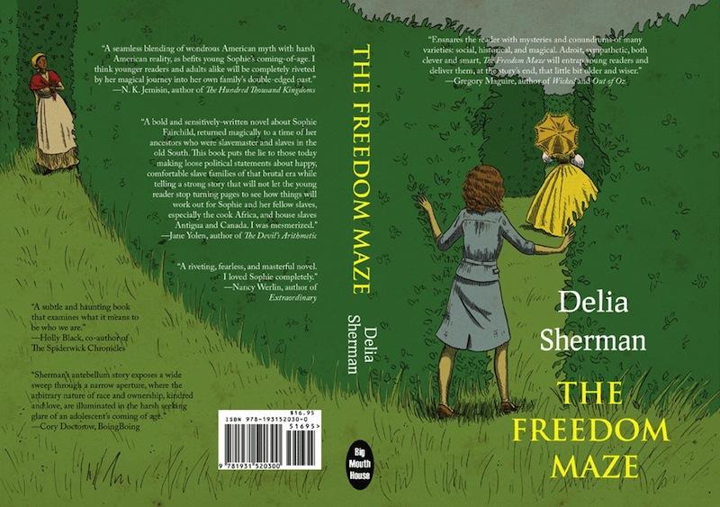 The Freedom Maze wrap around cover