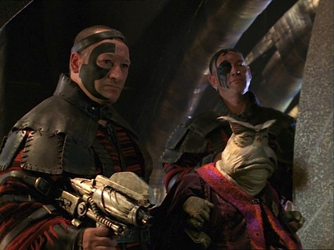 Farscape, Liars Guns and Money II: With Friends Like These