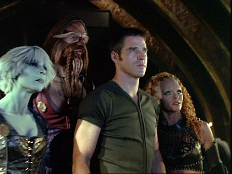 Farscape, Losing Time, D'Argo, Chiana, Jool, Crichton