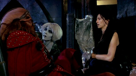Farscape: The Peacekeeper Wars, D'Argo, Chiana, Aeryn