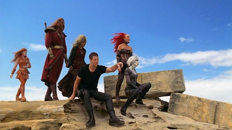 Farscape, What Was Lost II: Resurrection, Crichton, Jool, Sikozu, Noranti, D'Argo, Chiana