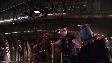 Farscape, Twice Shy, Crichton, D'Argo, Rygel
