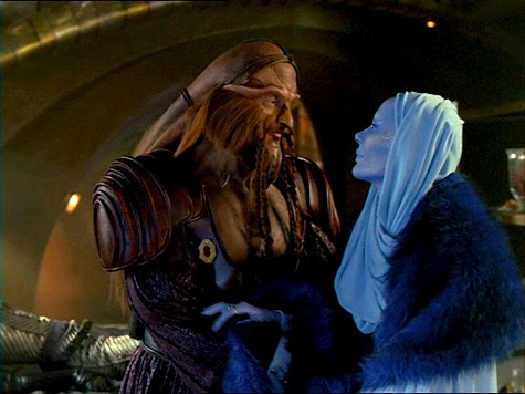 Farscape, Self-Inflicted Wounds, Wait For the Wheel, Zhan, D'Argo