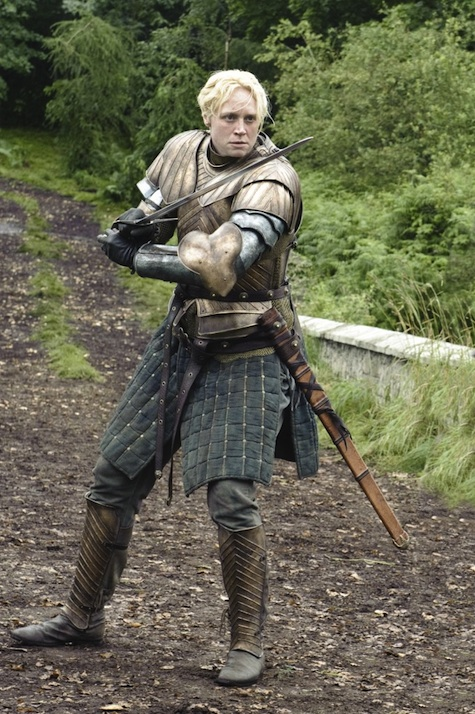 Game of Thrones season 3 Brienne of Tarth