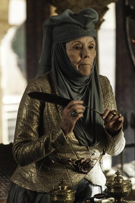 Game of Thrones season 3 Olenna Reed