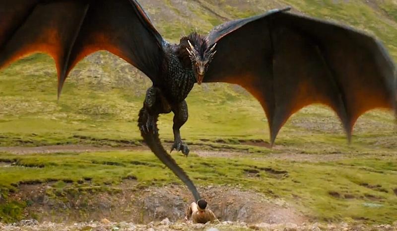 Game of Thrones season 4 trailer Drogon