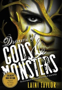 Laini Taylor Dreams of Gods and Monsters