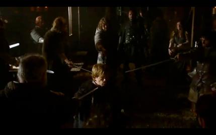 A Game of Thrones screencap